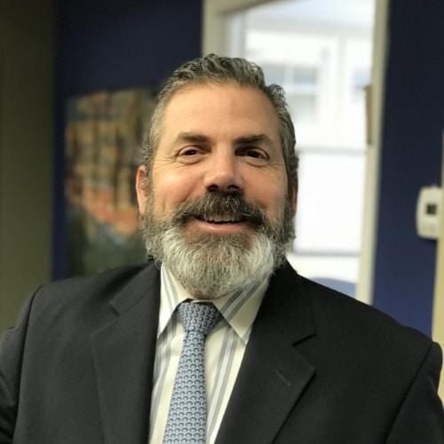 Lawyer Thomas Agoglia in business attire