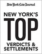 New York's Top Verdicts & Settlements badge